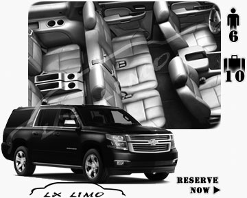 SUV for the airport transfer in Ottawa