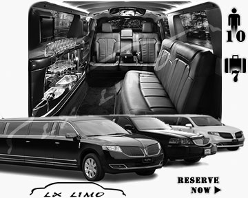 Stretch Limo airport shuttle in Ottawa