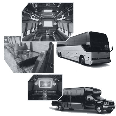 Party Bus rental and Limobus rental in Ottawa, ON