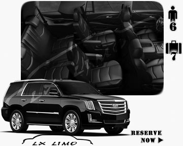 SUV Escalade for hire in Ottawa, ON
